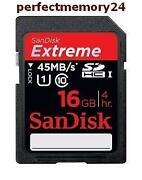 SanDisk SDHC 16GB Extreme 45MB/S