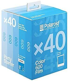 Polaroid Originals Instant Color 600 Film - 40X Film Pack (40 Photos) (4964)