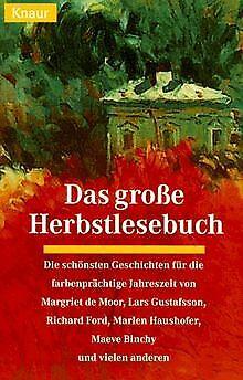 Das große Herbstlesebuch. von Annette Weber | Buch | Zustand gut