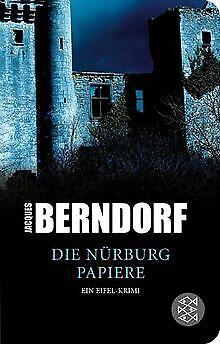 Die Nürburg-Papiere: Ein Eifel-Krimi von Berndorf, Jacques   Buch   Zustand gut
