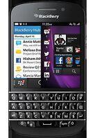 Blackberry Q10 Rogers Good Condition + Extras