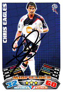 Bolton-Wanderers-F-C-Chris-Eagles-Hand-Signed-11-12-Match-Attax