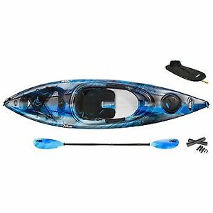 2 Pelican Odyssey 100X Kayak with Paddles