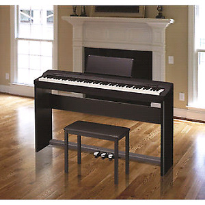 Casio PX-160 88-Key Digital Piano+Sustain Pedal Kit+Stand+Bench