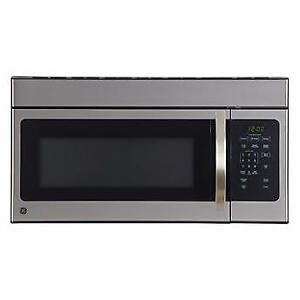 GE 1.6 cu ft Stainless Steel Over The Range Microwave (New)