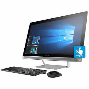 HP Pavilion 24-b029c, All-in-One Bilingual Desktop, i5-6400T