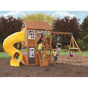 Cedar summit premium play set