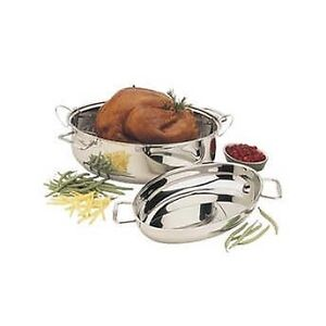 Paderno 42 cm (16.6 in.) Stainless-steel Roaster