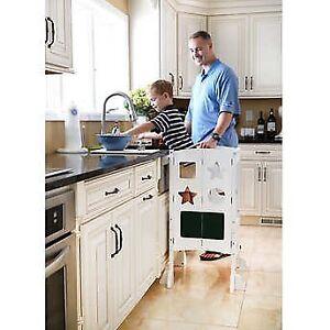 Guidecraft Kitchen Helper White
