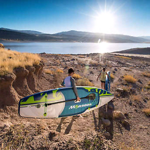 Inflatable stand up paddle board.