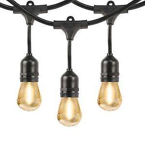 Guirlande lumineuse extérieure LED 48 pieds