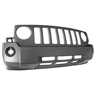 Hundreds of New Painted Jeep Patriot Front Bumpers
