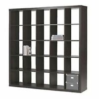 IKEA EXPEDIT shelf black/brown. A+ condition. Delivery