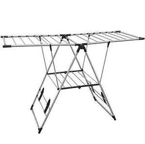 Greenway Indoor/Outdoor X-Large Drying Center with bar Shelf Sta