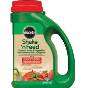 Miracle Gro Shake n Feed Tomato Fruits Vegetables 2 kg BRAND NEW
