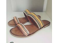 Lovely boho used sandals