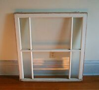"antique window from Park Head Church - 34 3/8"" x 37 1/4"""