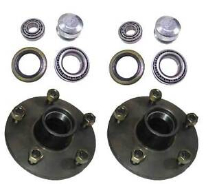 5-STUD-FORD-TRAILER-HUBS-WITH-HOLDEN-BEARING-SET