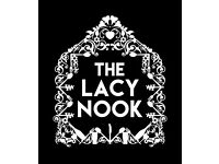 The Lacy Nook, Stoke Newington is looking for a Chef de Partie