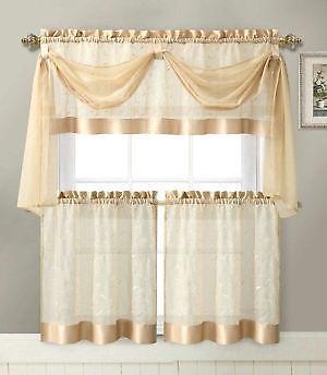 Orange Kitchen Curtains Ebay