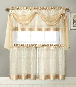 Orange Panel Curtains