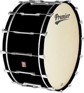 Premier-PPS0166EBC-Concert-Bass-Drum-in-Black-Wrap