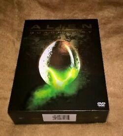 Alien quadrilogy (9 Dvds )