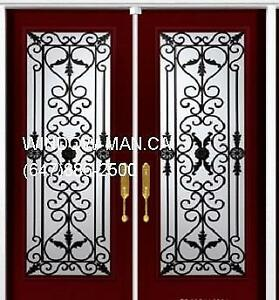 Iron Door Front Double Wrought  Fair Price