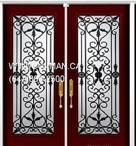 Front Iron Double Door Wrought  Contractor's Price