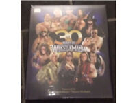 WrestleMania WWE book brand new and sealed