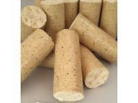 Round Wood Briquettes