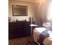 Large treatment/beauty room in busy salon. Free easy parking. Close to Norwich centre