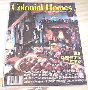 Colonial Homes & Early American Homes magazines – 21 issues