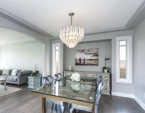 Dining room and bedroom chandeliers