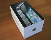 IPHONE 4S 16GB NEW/NEUF ROGERS/CHATR