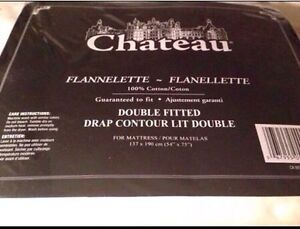 BRAND NEW DOUBLE FITTED FLANELETTE