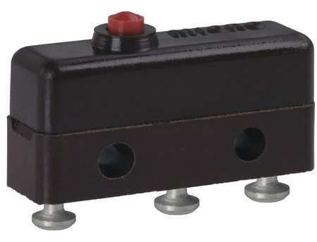 Honeywell 11Sm1-T Miniature Snap Action Switch, Pin, Plunger Actuator, Spdt, 5A
