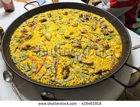 Casual Spanish Party Catering staff wanted, start immediatly, amazing rates for the right person