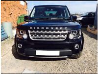 Land Rover discovery 4,2014 full front end.