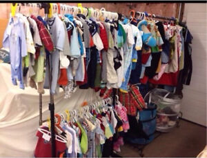 Baby clothes ... Lots and lots !