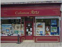 Picture Framing & Gallery business Colinton Arts for sale as a much sought after going concern.