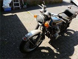 VINTAGE c1975 HONDA 500/4 MOTOR CYCLE FOR RESTORATION GARAGE FIND