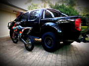 Nissan Navara ST-X turbo diesel, tuned, lifted, 33s amazing truck Newcastle Newcastle Area Preview