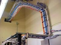 CABLE INSTALLER  CAT 6  WILL TRAIN  $15/hr