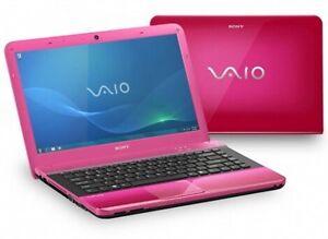 Sony Vaio Windows 7 Pink