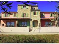 Croatia - 3 bed luxury Town House with sea view near Buje
