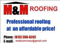 M&M ROOFING  NOW BOOKING FOR SPRING