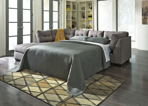 CARLOS SECTIONAL SOFABED ONLY $1699 - TAX IN & FREE LOCAL DEL