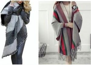 Trendy 2016 ponchos, capes, hooded scarves, infinite scarves MUS