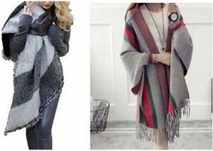 Trendy 2016 ponchos, capes, hooded scarves, infinite scarves MUS Kitchener / Waterloo Kitchener Area image 1